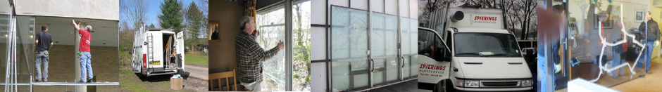 Banner-Glasschade